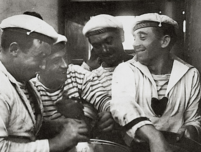 Earning your stripes for Striped french sailor shirt